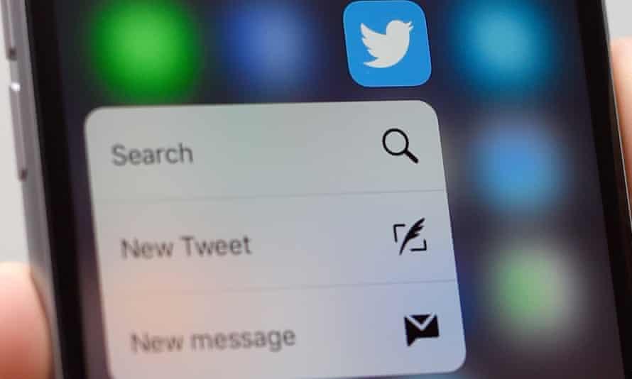 twitter 3D Touch