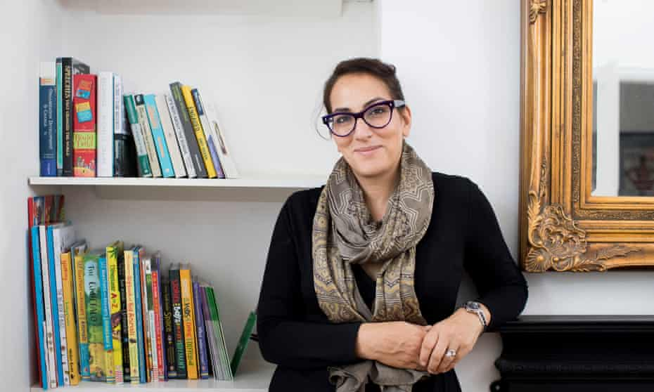 Saima Mir at home in south London