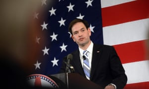 Florida Senator Marco Rubio in New Hampshire
