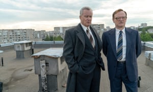 Jared Harris (right) and Stellan Skarsgård in Chernobyl.
