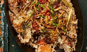 Yotam Ottolenghi's kombu and ginger sticky rice