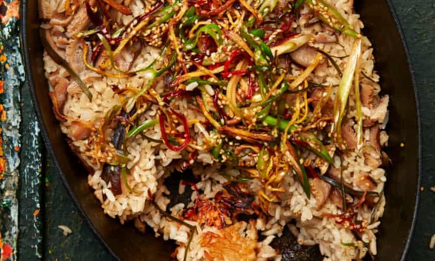 Yotam Ottolenghi's kombu and ginger sticky rice