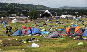 Glastonbury Festival site