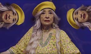 Madhur Jaffrey in the video for Nani by Mr Cardamom.
