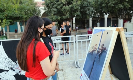 The Banksy exhibition in Bethlehem.