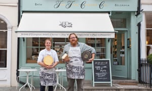 Savoury interlude: Luke and Jake of the Fine Cheese Co.