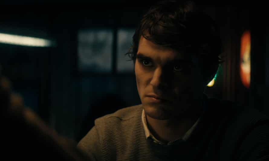 Sharply crafted … RJ Mitte in The Oak Room.