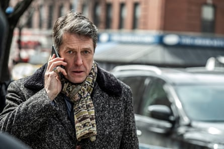 Hugh Grant as Jonathan, a middle-class interloper who has charmed his way into a different world.