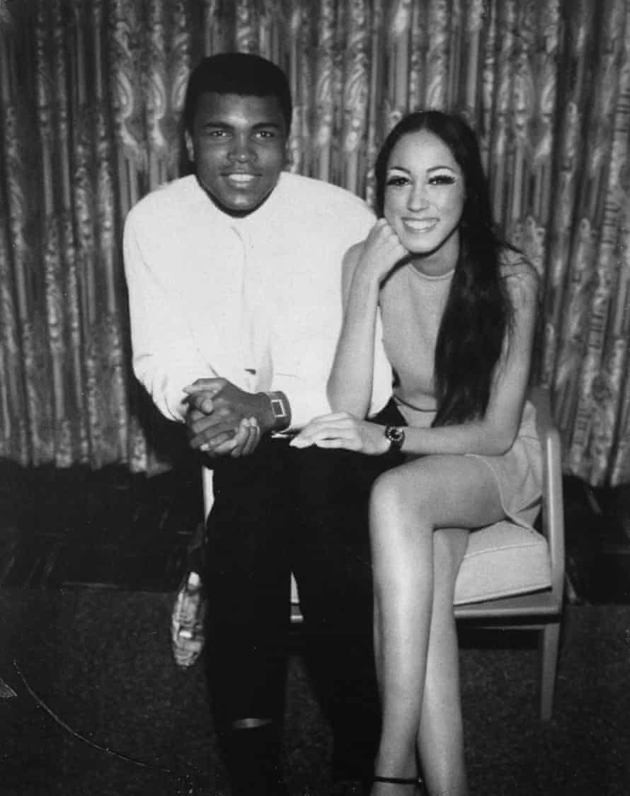 Pat Cleveland with Mohammed Ali in 1966