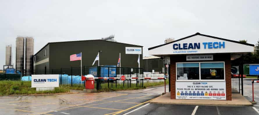 Clean Tech's plant in Lincolshire
