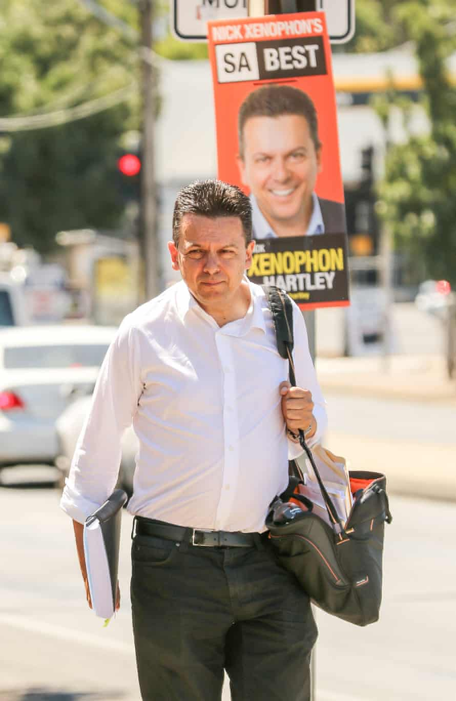SA Best leader Nick Xenophon