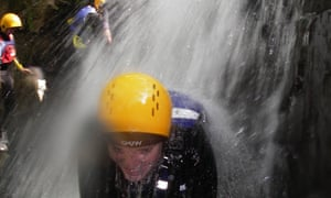 Adventures Wales waterfall trip
