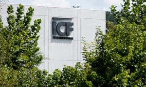An ICF International facility in Martinsville, Virginia.