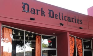 Dark Delicacies bookshop.