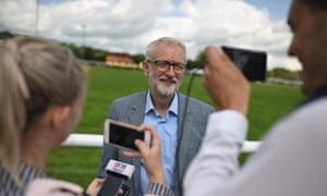 Jeremy Corbyn at Whaley Bridge