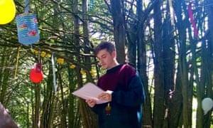 Tristan Gatward produces Poltimore festival.