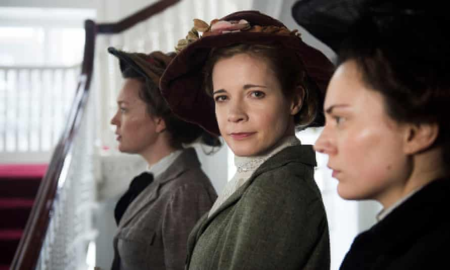 Suffragettes with Lucy Worsley.