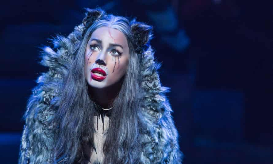 Feline confident: Leona Lewis as Grizabella in Cats.