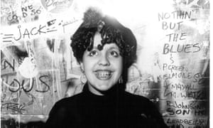 Poly Styrene in her early days.