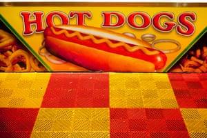 A hotdog stand in 2013