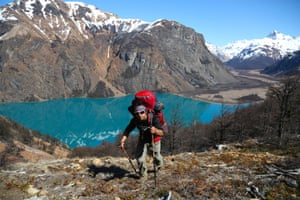 Jorge, Graeme Green's hiking guide in Parque Patagonia