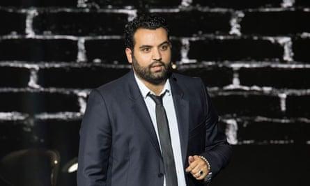 Comedian Yassine Belattar.
