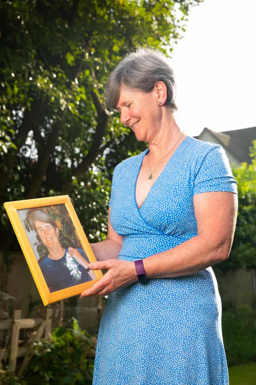 Erica Young, whose mother Vicky Cornwell died in hospital after testing positive for Covid-19.