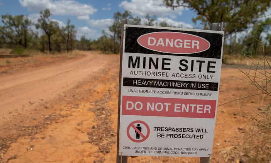 The Adani Carmichael coalmine site