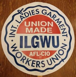 International Ladies Garment Workers Union, picket sign, ca. 1960-1995