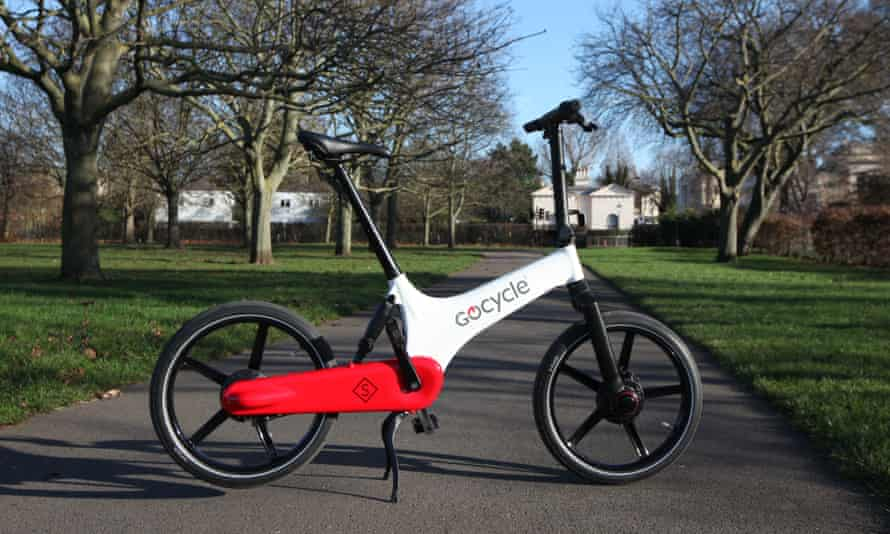 Fully charged: the GS comes with a sturdy built-in lock and kickstand
