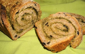 Suzanne Anderegg's picture of her adaptable and inspired pesto bread.