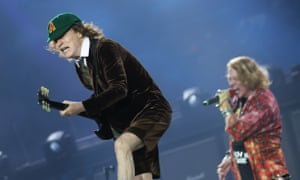 AC/DC perform in Manchester on 9 June 2016.