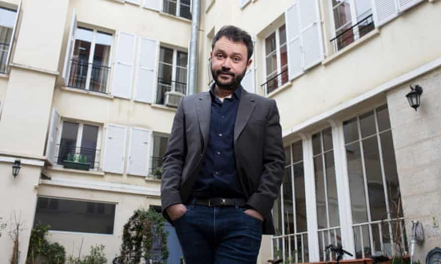 Riad Sattouf photographed in Paris for the Observer last week.