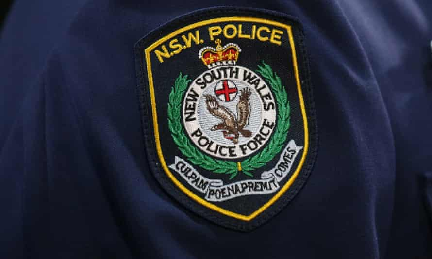 New South Wales police badge