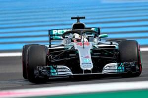 Hamilton wins the French Grand Prix.