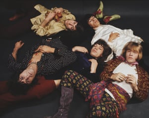 'Unschooled' … the Rolling Stones in 1968.