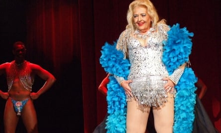 April March, one of the former showgirls coming out of retirement in the 'lovely, inspiring' Burlesque Legends.