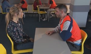 Hollyoaks: Peri (Ruby O'Donnell) confronts Cameron (Cameron Moore)