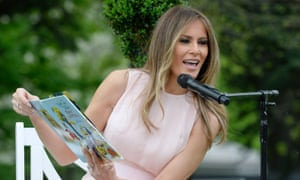 'The key to achieving your dreams begins with learning to read' … Melania Trump.