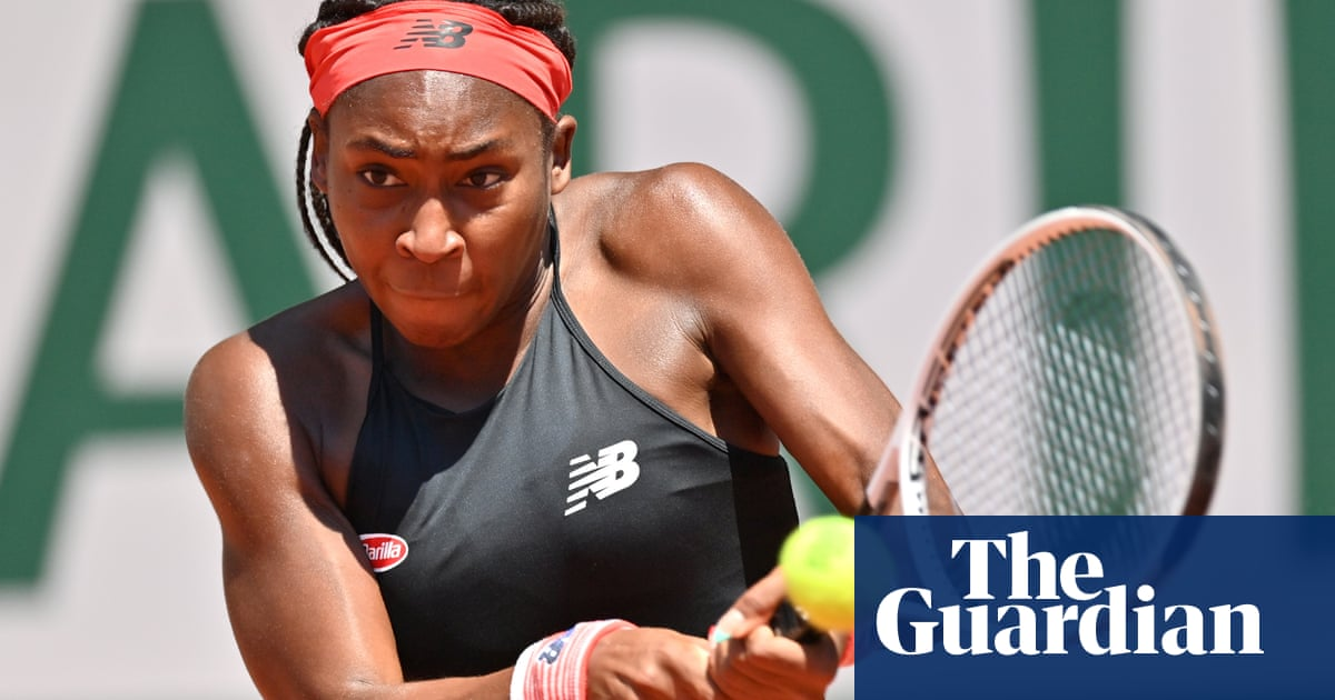 Coco Gauff reaches first grand slam quarter-final after win at French Open