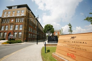 A Berkeley Homes development at Royal Arsenal, Woolwich, south London.