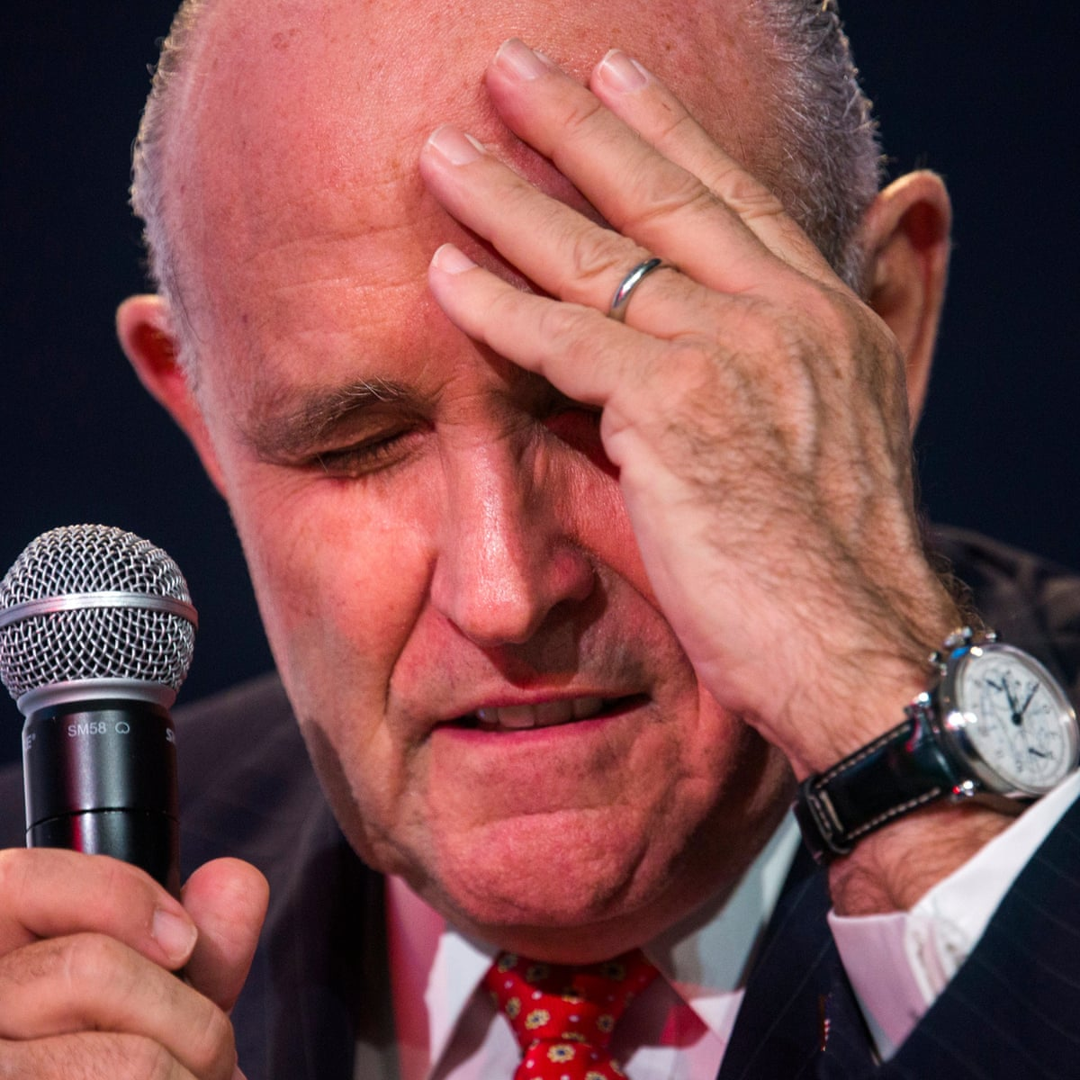 Rudy Giuliani The Five Ages Of Trump S Loyal Long Serving Friend Rudy Giuliani The Guardian