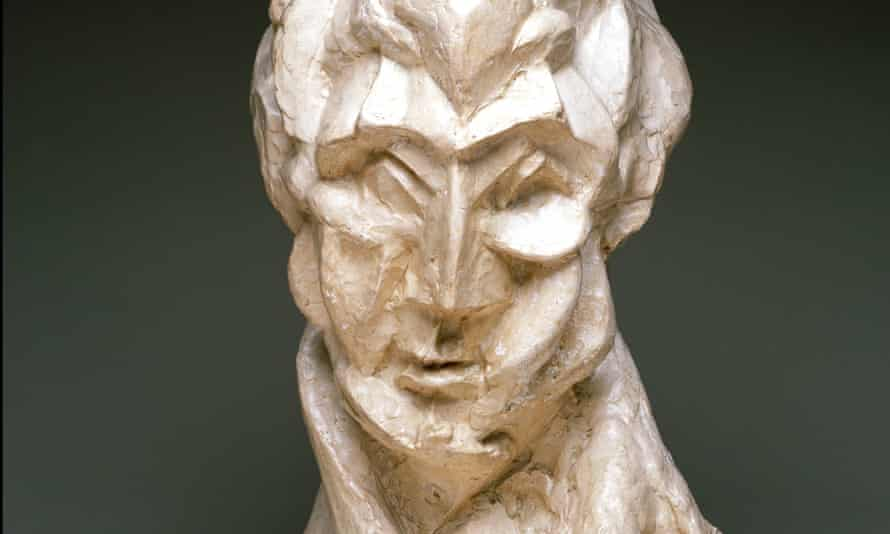 Head of a Woman (Fernande), 1909, by Pablo Picasso