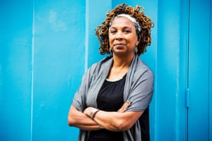 Kimberlé Crenshaw, American civil rights activist. Photograph by Felix Clay