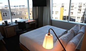 Denver's newest hotel, Hotel Indigo.
