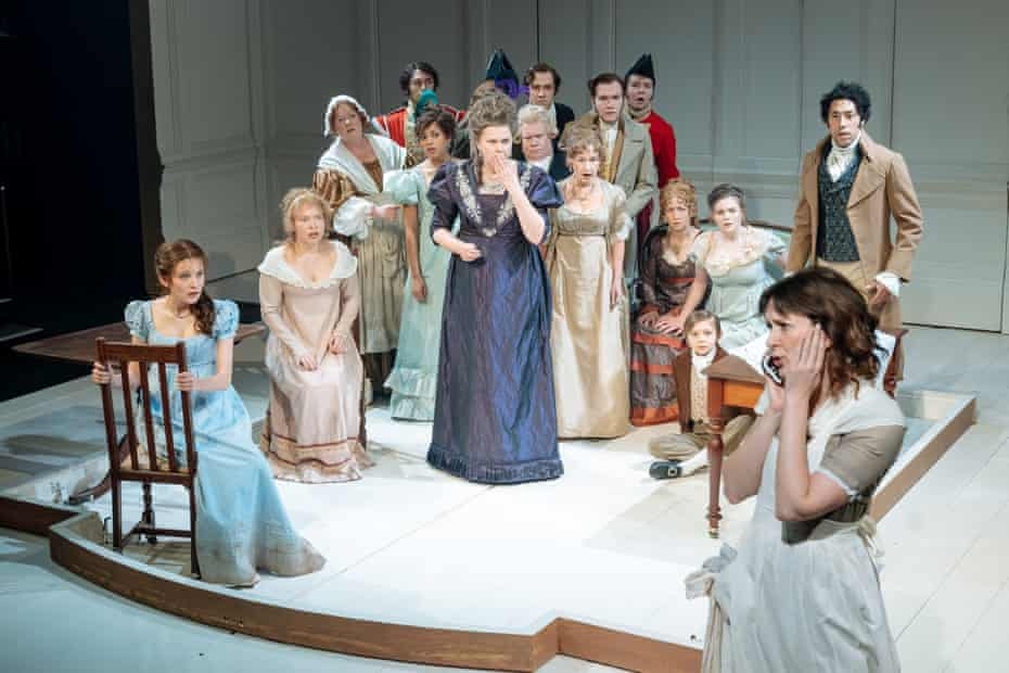 The Watsons by Laura Wade at Chichester Festival theatre.