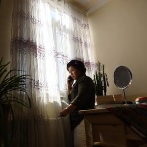 Laila Haidari at home.