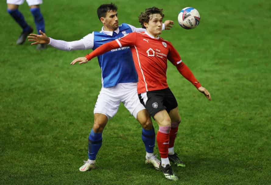 Barnsley's midfielder Callum Styles (right) one of the Football League's most exciting prospects.