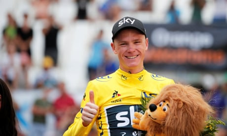 Tour de France: Chris Froome all but wins his fourth title – video highlights