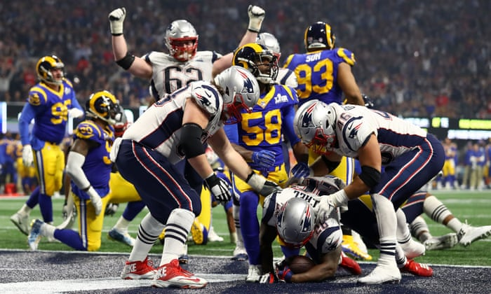 Super Bowl 2019 New England Patriots Beat Los Angeles Rams 13 3